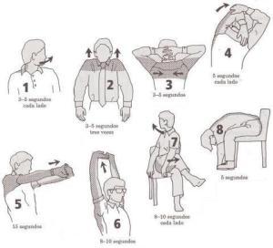 Ejercicios rápidos para el estrés